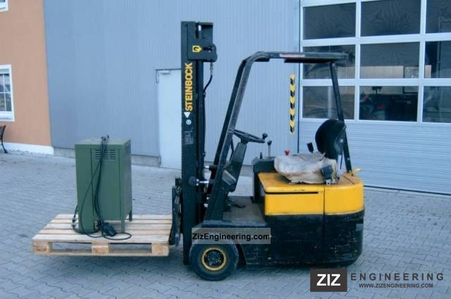 1992 Steinbock  LE 13-70 Forklift truck Front-mounted forklift truck photo