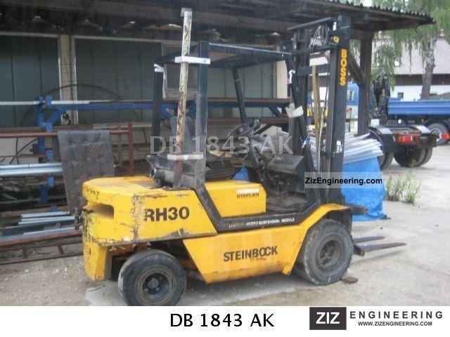 1992 Steinbock  RH 30 diesel truck Forklift truck Front-mounted forklift truck photo