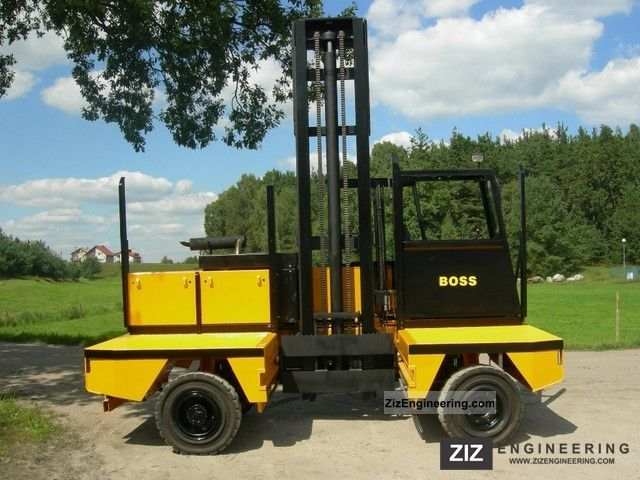 1997 Steinbock  Boss 556-5C2 Forklift truck Side-loading forklift truck photo
