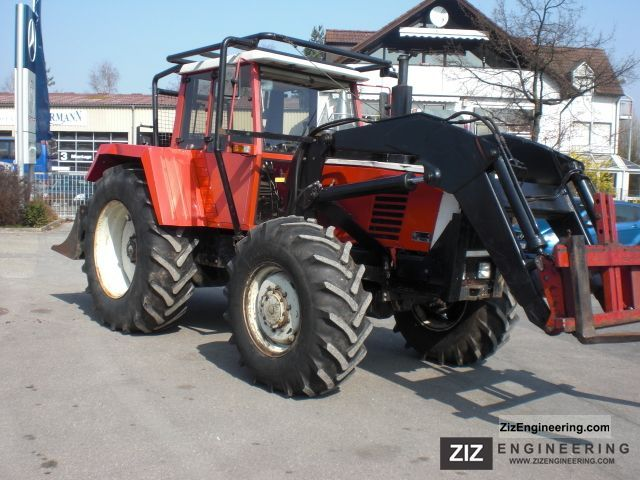 1987 Steyr  8170 A double Werner winch front loader Forestry Agricultural vehicle Forestry vehicle photo