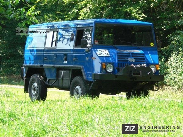 1990 Steyr  Pinzgauer 716 K Van or truck up to 7.5t Estate - minibus up to 9 seats photo