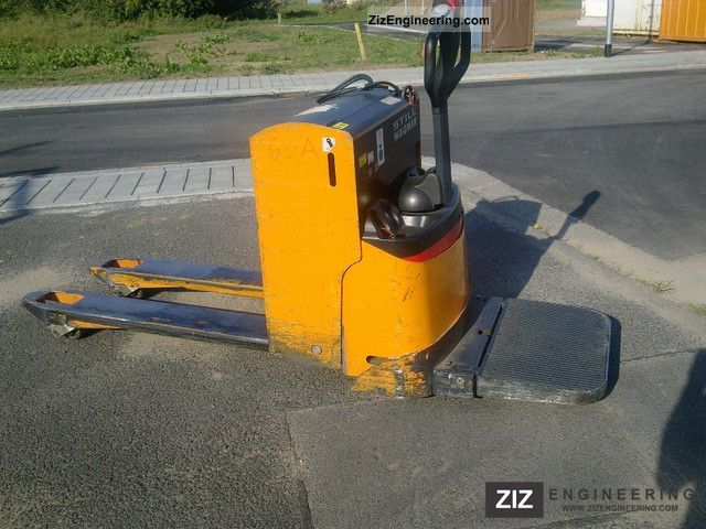 2000 Still  Wagner EGU 20 S Forklift truck Low-lift truck photo
