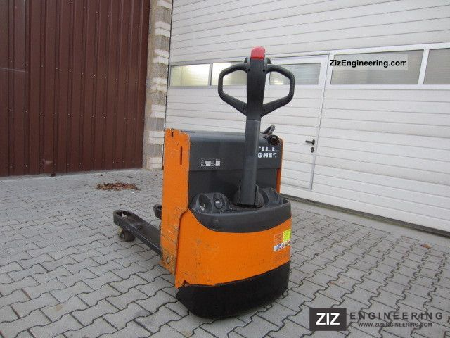 2000 Still  EGU 16 GOOD CONDITION Forklift truck Low-lift truck photo