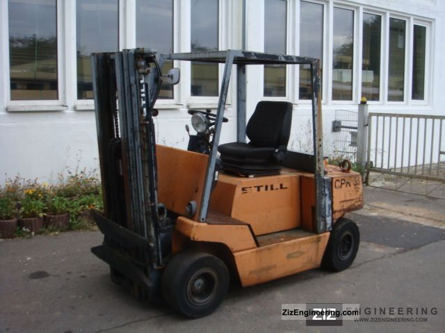 1987 Still  DFG 2.5, Mercedes Diesel, Triplex, part donor Forklift truck Front-mounted forklift truck photo