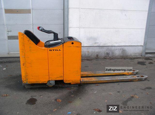 2004 Still  EGU S20 LONG FORKS 1600 mm Forklift truck Low-lift truck photo