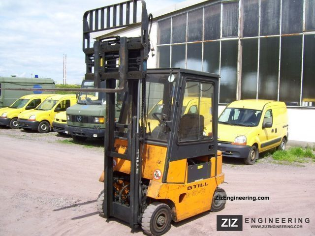 1999 Still  EFG R 60-16 Forklift truck Front-mounted forklift truck photo