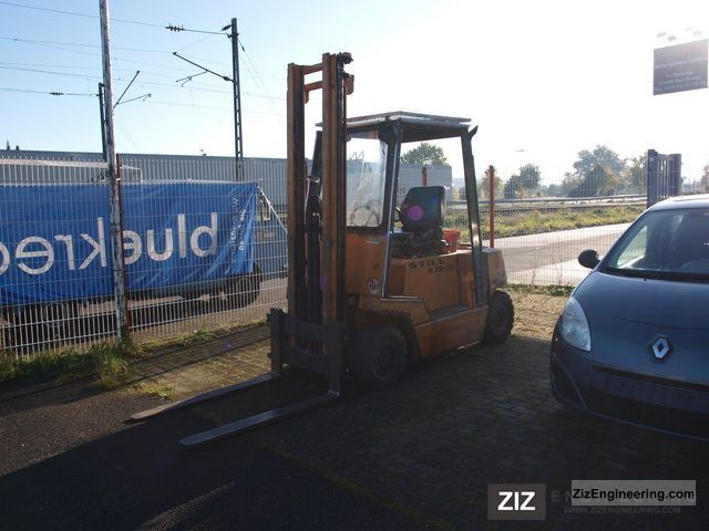 1984 Still  R70-250 Forklift truck Other forklift trucks photo