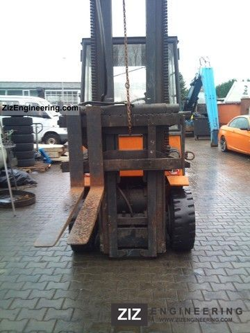 1993 Still  R60-40 Forklift truck Front-mounted forklift truck photo