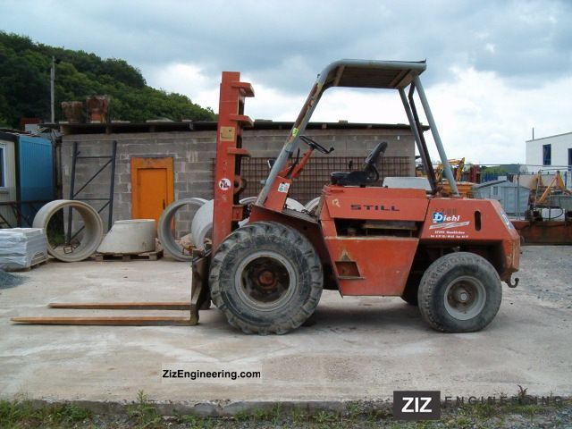 1970 Still  4200 Forklift truck Front-mounted forklift truck photo