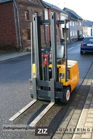 1978 Still  EFG 15/5004 Forklift truck Front-mounted forklift truck photo