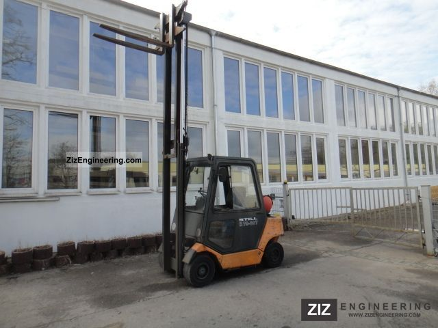 1997 Still  R 70-30T, Tele / free-view, 3 +4. Valve, cabin Forklift truck Front-mounted forklift truck photo