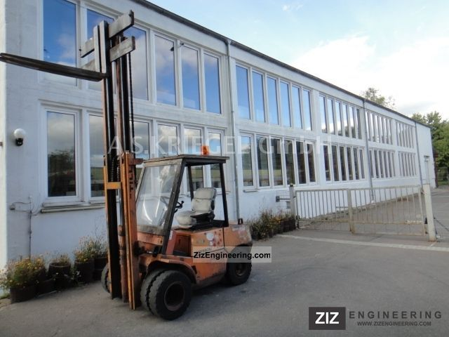 1981 Still  DFG 3.0, telescopic, 4 Zyl.Deutz Forklift truck Front-mounted forklift truck photo