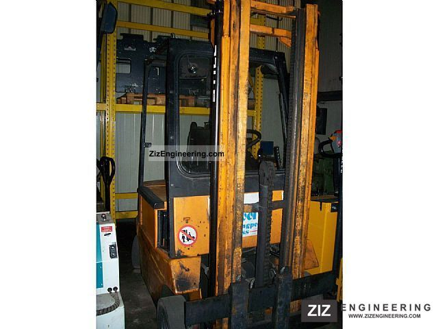 1988 Still  EFG 1.6 1.6 to 6021 Forklift truck Front-mounted forklift truck photo