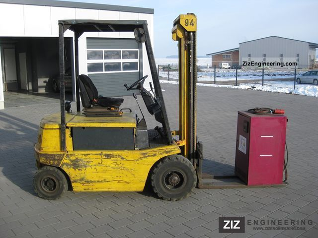1986 Still  EFG 2.5 tonners Forklift truck Front-mounted forklift truck photo
