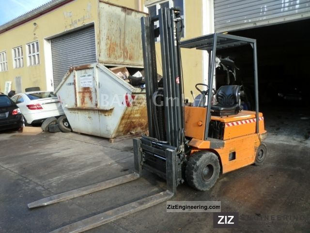 1992 Still  R60-25 Forklift truck Front-mounted forklift truck photo