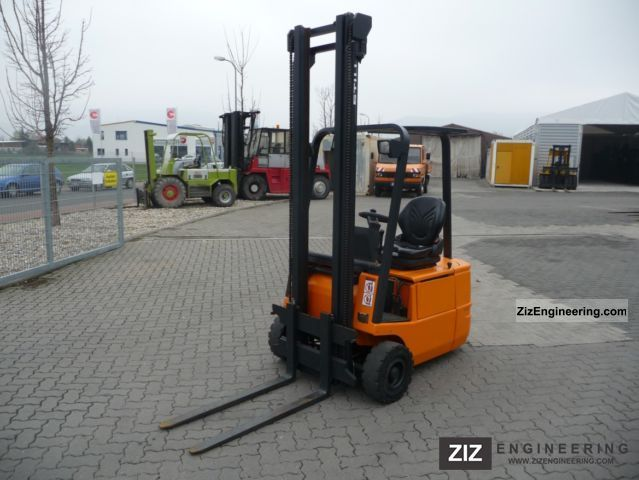 2001 Still  R50-16 battery 2005 Forklift truck Front-mounted forklift truck photo