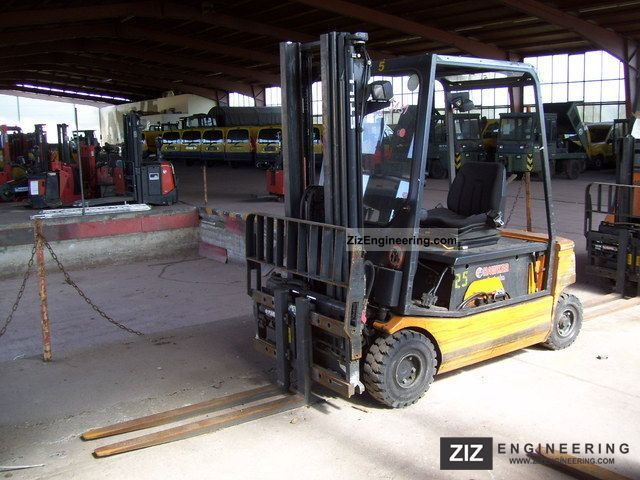 1998 Still  EFG R 20-16 Triplex Forklift truck Front-mounted forklift truck photo