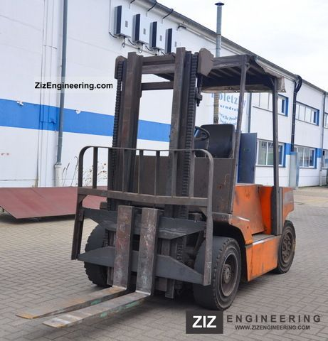 1993 Still  R70-45 diesel Forklift truck Front-mounted forklift truck photo