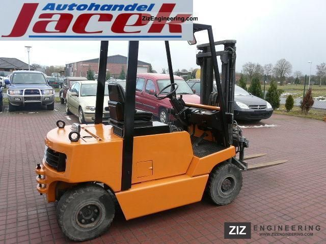 1986 Still  DFG 2.5 / 7013 R70-25 Forklift truck Front-mounted forklift truck photo