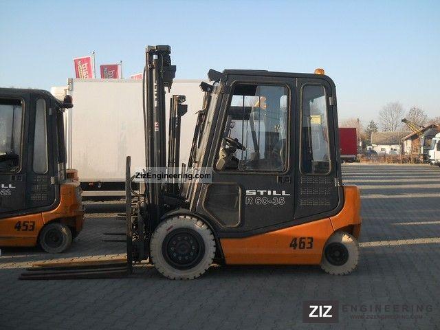 2003 Still  R60-35 elektryczny! Forklift truck Front-mounted forklift truck photo
