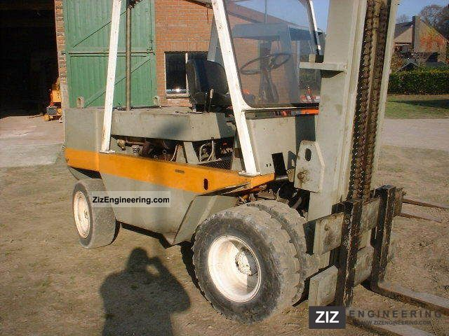 1980 Still  7.5 Forklift truck Front-mounted forklift truck photo