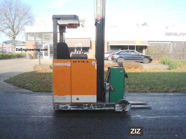 1994 Still  EFSM 14 / Explions proof Pyroban zone 3 G Forklift truck Reach forklift truck photo