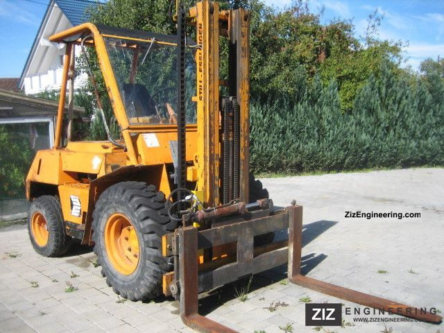 1975 Still  DFG 3 / 1826 / MB engine Forklift truck Rough-terrain forklift truck photo