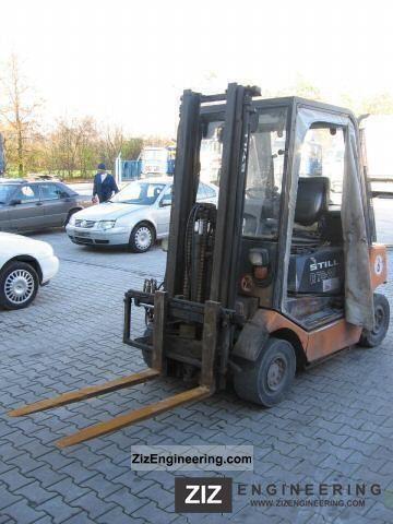 1999 Still  R70-25 diesel forklifts Forklift truck Front-mounted forklift truck photo