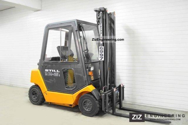 2003 Still  R 70-25, CAB, 6096Bts! Forklift truck Front-mounted forklift truck photo
