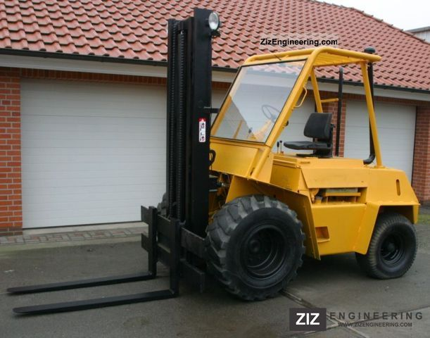 1971 Still  DFG 4 / 1820 Forklift truck Rough-terrain forklift truck photo
