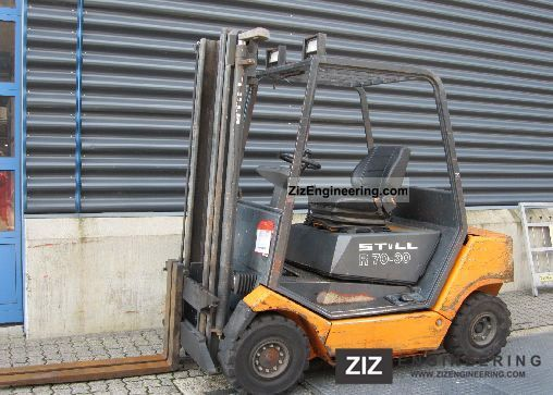 1999 Still  R70-30 Forklift truck Front-mounted forklift truck photo