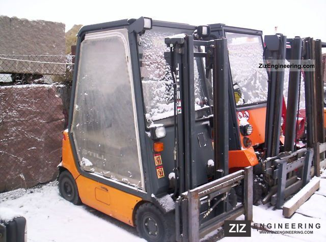 2002 Still  70-16 Forklift truck Front-mounted forklift truck photo