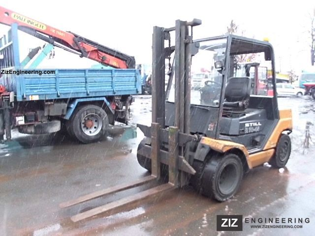 2003 Still  R70-45 dual tires Forklift truck Front-mounted forklift truck photo