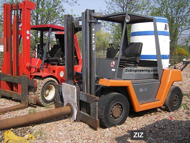 1994 Still  R 7060 Forklift truck Other forklift trucks photo