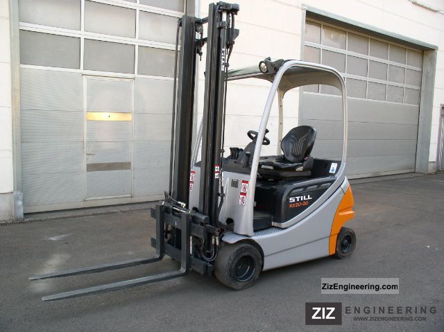 2006 Still  RX 20 - 20 P SIDE SLIDE Forklift truck Front-mounted forklift truck photo