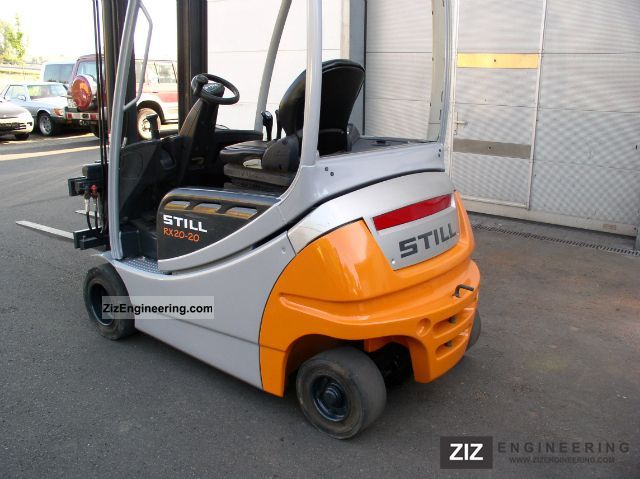 still rx 20 20 p side slide 2006 front mounted forklift. Black Bedroom Furniture Sets. Home Design Ideas
