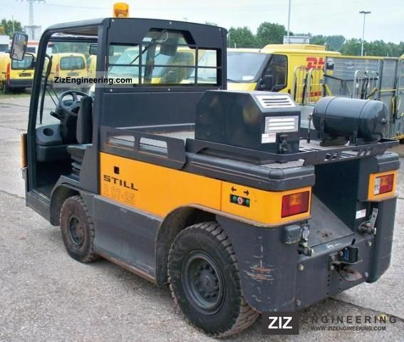 2001 Still  Tractor EFZ 20-0727 / original compressor 247h Forklift truck Other forklift trucks photo