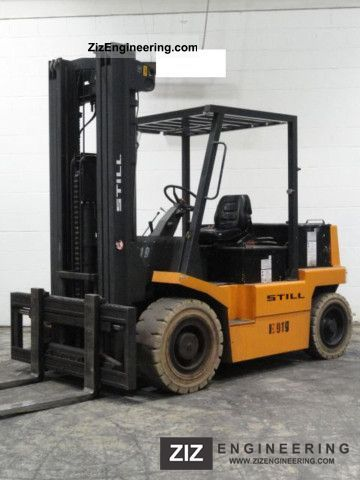2003 Still  FT 60 Forklift truck Front-mounted forklift truck photo