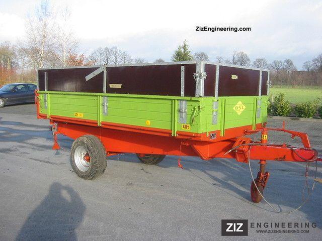 1988 Strautmann  SK 30 E Einachsdreiseitenkipper / Top condition Agricultural vehicle Loader wagon photo