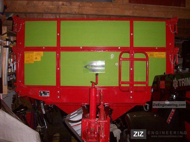 1993 Strautmann  SKE 45 Agricultural vehicle Loader wagon photo