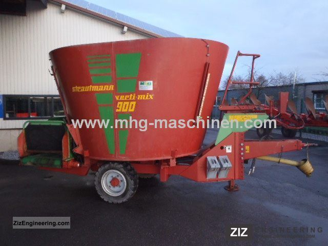 1999 Strautmann  Verti-Mix 900 Mixer wagons Agricultural vehicle Other agricultural vehicles photo