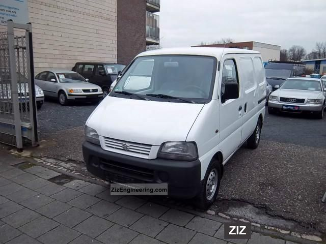 2001 Suzuki  1.3 Carry 1.HAND 113TKM * * * CASE * GREEN FSP Van or truck up to 7.5t Other vans/trucks up to 7,5t photo
