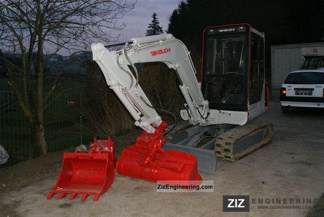 Takeuchi Tb035 2011 Mini Kompact Digger Construction