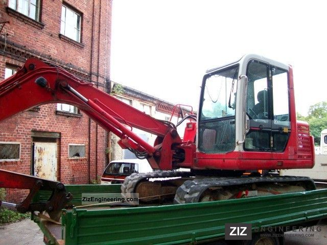 1998 Takeuchi  TB 070 mini excavator excavator hammer to 7.2. Construction machine Mini/Kompact-digger photo
