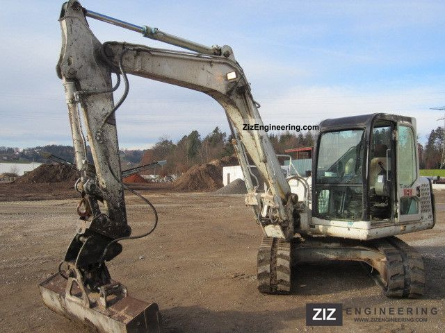 1999 Takeuchi  TB 070 3 bucket swing bucket gripper 7.5 T0 Construction machine Mini/Kompact-digger photo
