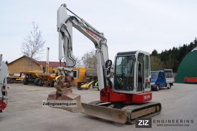 2003 Takeuchi  TB53 FR with Powertilt Construction machine Mini/Kompact-digger photo