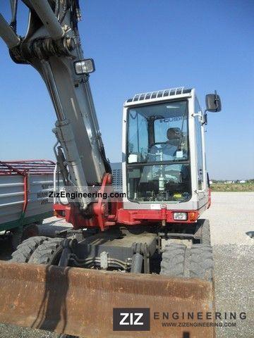 Takeuchi Tb 175 2007 Mobile Digger Construction Equipment