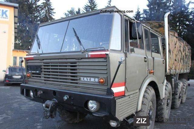 1981 Tatra  813 Truck over 7.5t Other trucks over 7,5t photo