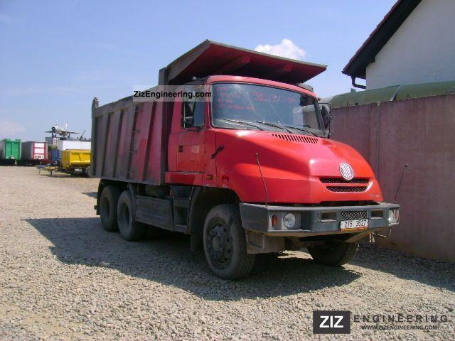 2003 Tatra  T163 6x6 Truck over 7.5t Tipper photo