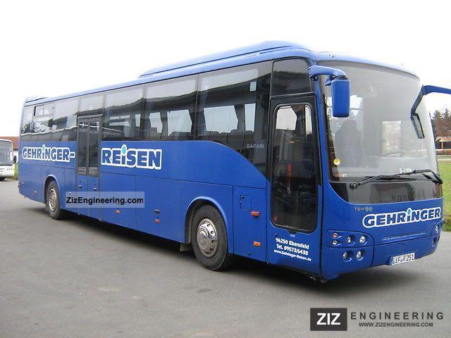 2003 Temsa  Safari Intercity 13 Coach Cross country bus photo